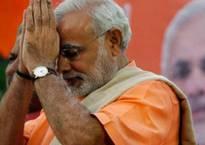 PM Narendra Modi begins Navratra fast