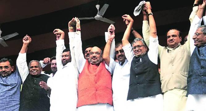 Bihar Seat Share Its Advantage Bjp - News Nation-7499