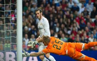 Bale scores four as Real hit 10, Atletico beaten
