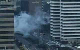 Serial blasts rock Indonesian capital Jakarta; 7 dead