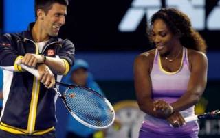 Defending champs Williams, Djokovic advance at Aussie Open