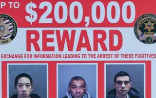 5 arrests made in search for escaped California inmates