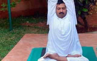 Arvind Kejriwal undergoes yoga, naturopathy sessions