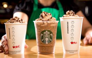 Have you tried Starbucks Valentines' special chocolate drinks yet?
