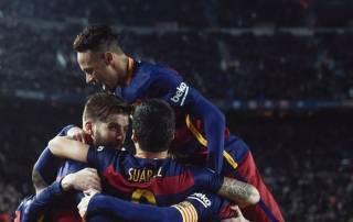 Barca equal unbeaten record in Sevilla win