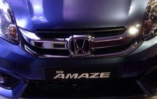 Honda launches new Amaze priced up to Rs 8.19 lakh