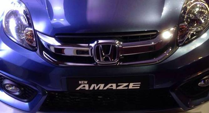 Honda Launches New Amaze Priced Up To Rs 8 19 Lakh Www Newsnation In