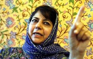 Mehbooba says not afraid of criticism for going ahead with BJP