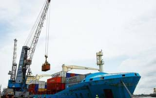 Exports fall for 15th straight month; trade deficit narrows