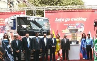 Jagat, Nagarjuna win at T1 Prima Truck Racing Championship