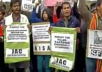 Rohith Vemula issue: JNU students protest outside HRD ministry