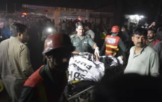 Lahore bomb blast: Pakistan Taliban claims attack, toll rises to 72