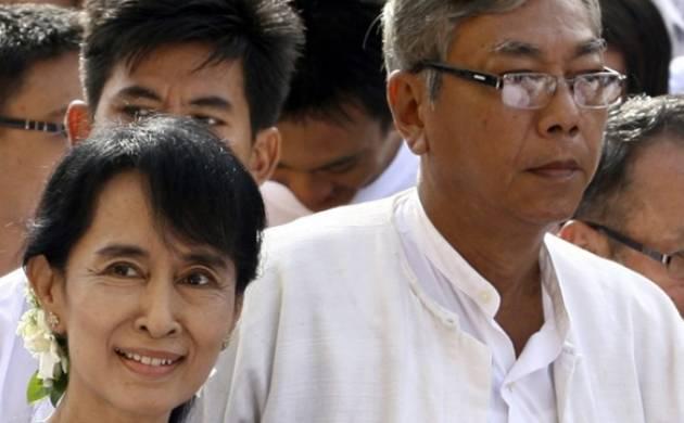 Htin Kyaw Sworn In As Myanmar President In Historic Power Shift - News Nation-5362