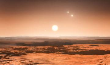 New exoplanet discovered with three shining suns!