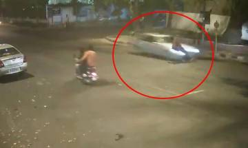 Mercedes hit and run case: Juvenile kills 32-year-old man, family releases CCTV footage