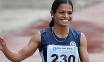 Dutee shines again, wins women's 100m dash