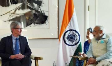 Apple's Cook meets PM Narendra Modi; discusses manufacturing possibilities