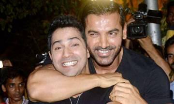 Emotional Varun Dhawan says proud of Rohit for 'Dishoom'
