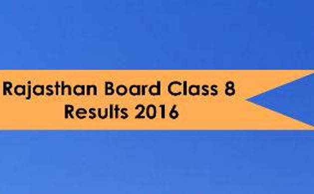Rajasthan board class 8th result 2016 announced