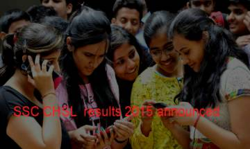 SSC CHSL exam results 2015: Check ssc.nic.in to download