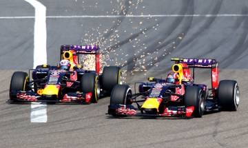 Formula One: In case of hazardous incidents, double yellow flags to be replaced by red flags