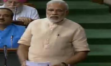 GST will end tax terrorism, says PM Narendra Modi in Lok Sabha