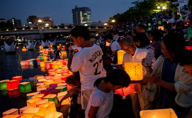 Hiroshima Marks the 70th Anniversary of Atomic Bomb ( Source- Getty images)