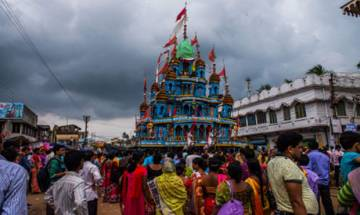 One held for keeping meat on chariot during Rath Yatra