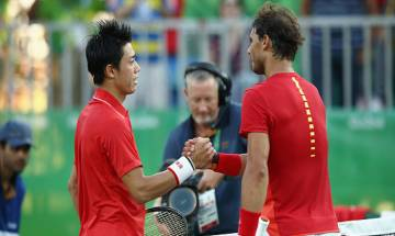 Rio Olympics 2016: Nishikori beats Nadal to end Japan's 96-year wait for a medal in tennis