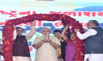रैली के दौरान बोले पीएम मोदी, गुजरात ने अपनाया विकास का मंत्र