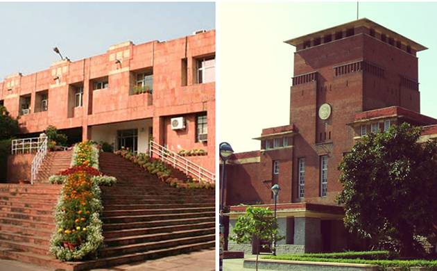 Delhi University and Jawaharlal Nehru University student unions are going to polls on Friday (File photo)