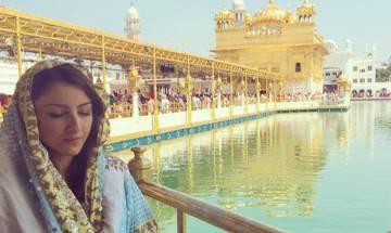 Soha Ali Khan visits Golden Temple, Ganpati pandal, attacks trolls raising questions on her faith