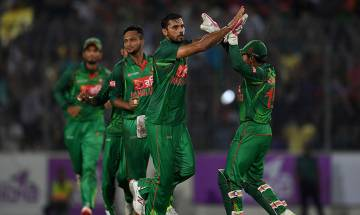 Bangladesh beat England by 34 runs courtesy Mashrafe Mortaza's spectacular all-round performance