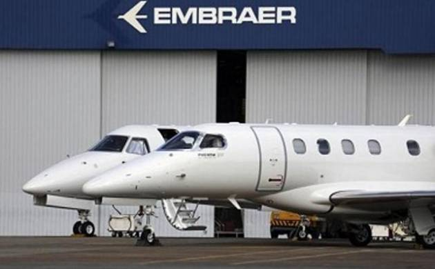 A file photo of an Embraer aircraft.