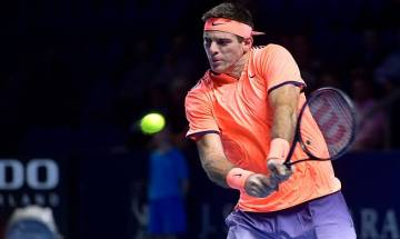 Juan Martin del Potro and top-seeded Stan Wawrinka move into Swiss Indoors quarterfinals