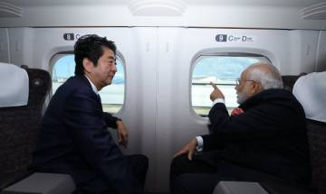 Watch: PM Modi enjoys Shinkansen bullet ride in Japan with Shinzo Abe