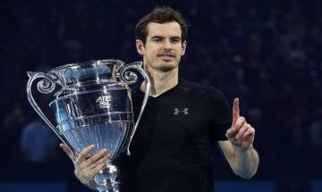 Andy Murray defeats Novak Djokovic to win ATP World Tour Finals title and seal world number one spot