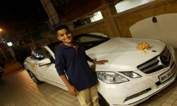 BJP MLA Ram Kadam courts controversy by gifting Mercedes to his minor son