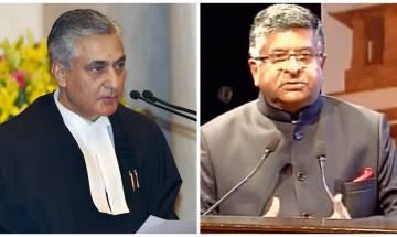 Judiciary and Legislative lock horns again: Law Min Prasad, CJI Thakur warn each other against crossing 'Lakshman Rekha'