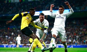 UEFA Champions League: Borussia Dortmund hold Real Madrid to 2-2 draw