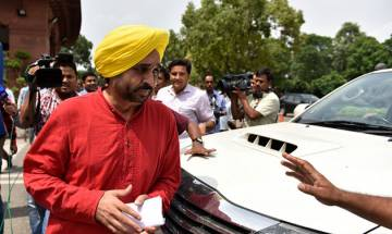 Parliamentary panel suspends AAP member Bhagwant Mann from Lok Sabha for videography