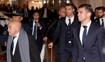Real Madrid arrives in Japan for FIFA Club World Cup