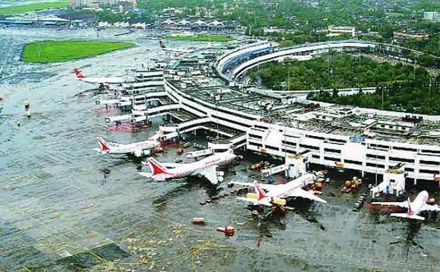A general view of Mumbai's Chhatrapati Shivaji International Airport.