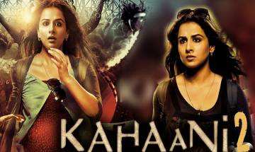 Vidya Balan starrer ' Kahaani 2 ' declared tax-free in Uttar Pradesh