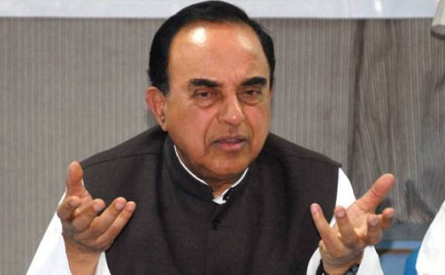 A file photo of Subramanian Swamy