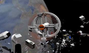 Japanese space agency to use tether to clear space debris