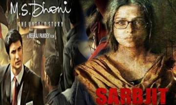 Oscars 2017: Indian biopics 'MS Dhoni' and 'Sarbjit' make it to long list of 336 feature films