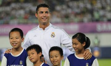 Cristiano Ronaldo calls Syria kids 'the true heroes' in emotional video message