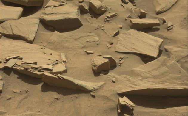 Watch Video: NASA's martin rover discovers a large spoon on Mars (Image: NASA/JPL)