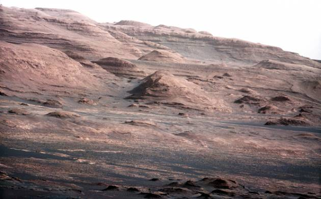 Purple-coloured rocks discovered on Mars by Curiosity Rover